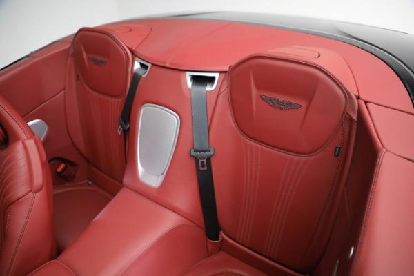 New 2020 Aston Martin DB11 Volante Convertible for sale $247,386 at Alfa Romeo of Greenwich in Greenwich CT 06830 22