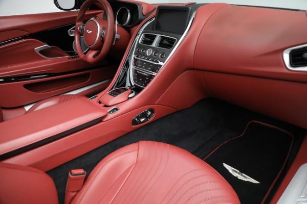 New 2020 Aston Martin DB11 Volante Convertible for sale $247,386 at Alfa Romeo of Greenwich in Greenwich CT 06830 24