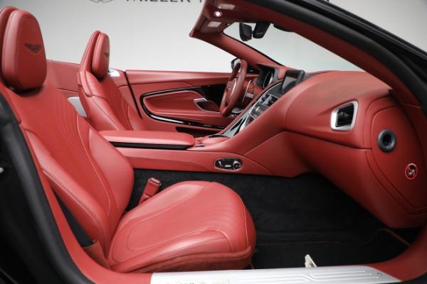 New 2020 Aston Martin DB11 Volante Convertible for sale $247,386 at Alfa Romeo of Greenwich in Greenwich CT 06830 25