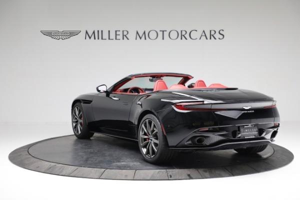 New 2020 Aston Martin DB11 Volante Convertible for sale $247,386 at Alfa Romeo of Greenwich in Greenwich CT 06830 4