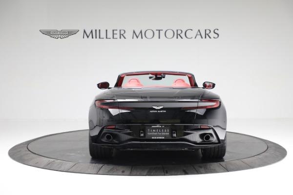 New 2020 Aston Martin DB11 Volante Convertible for sale $247,386 at Alfa Romeo of Greenwich in Greenwich CT 06830 5