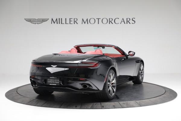 New 2020 Aston Martin DB11 Volante Convertible for sale $247,386 at Alfa Romeo of Greenwich in Greenwich CT 06830 6