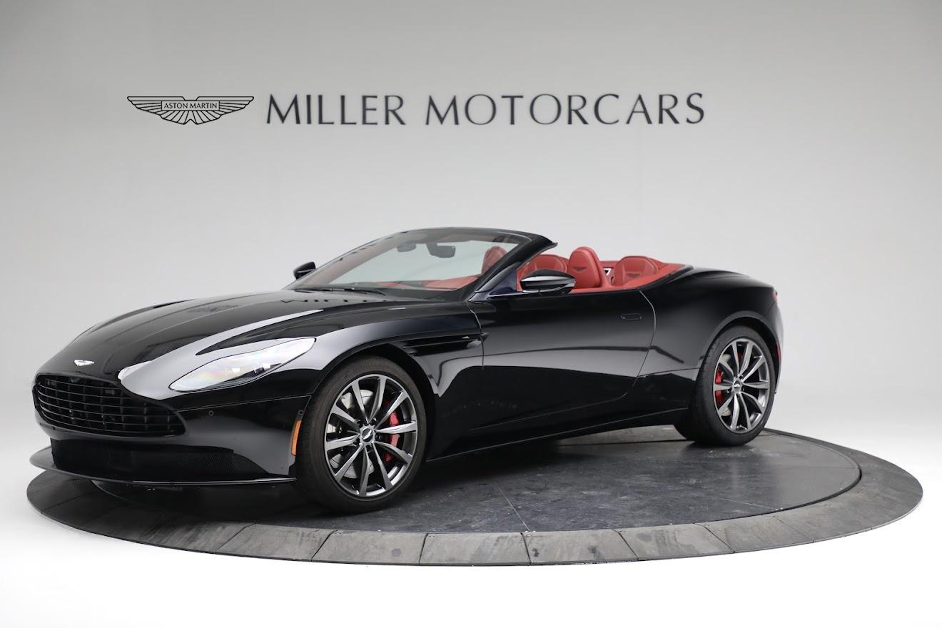 New 2020 Aston Martin DB11 Volante Convertible for sale $247,386 at Alfa Romeo of Greenwich in Greenwich CT 06830 1