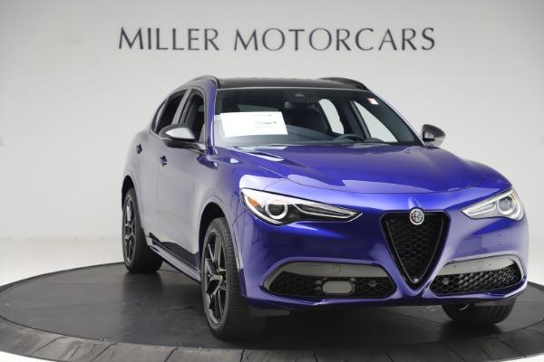 New 2020 Alfa Romeo Stelvio Ti Sport Q4 for sale $57,945 at Alfa Romeo of Greenwich in Greenwich CT 06830 11