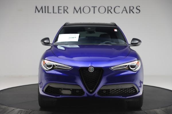 New 2020 Alfa Romeo Stelvio Ti Sport Q4 for sale $57,945 at Alfa Romeo of Greenwich in Greenwich CT 06830 12