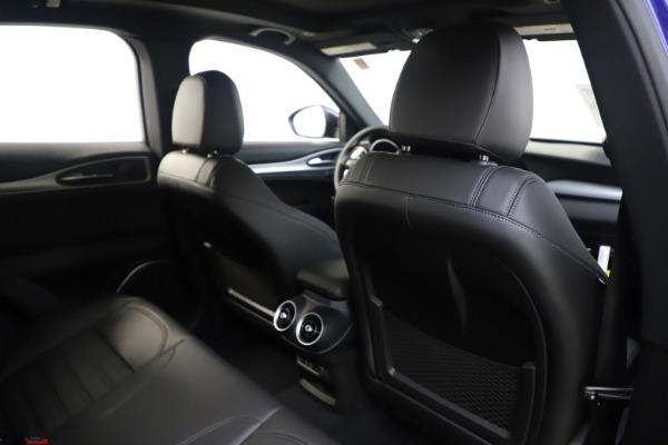 New 2020 Alfa Romeo Stelvio Ti Sport Q4 for sale $57,945 at Alfa Romeo of Greenwich in Greenwich CT 06830 28