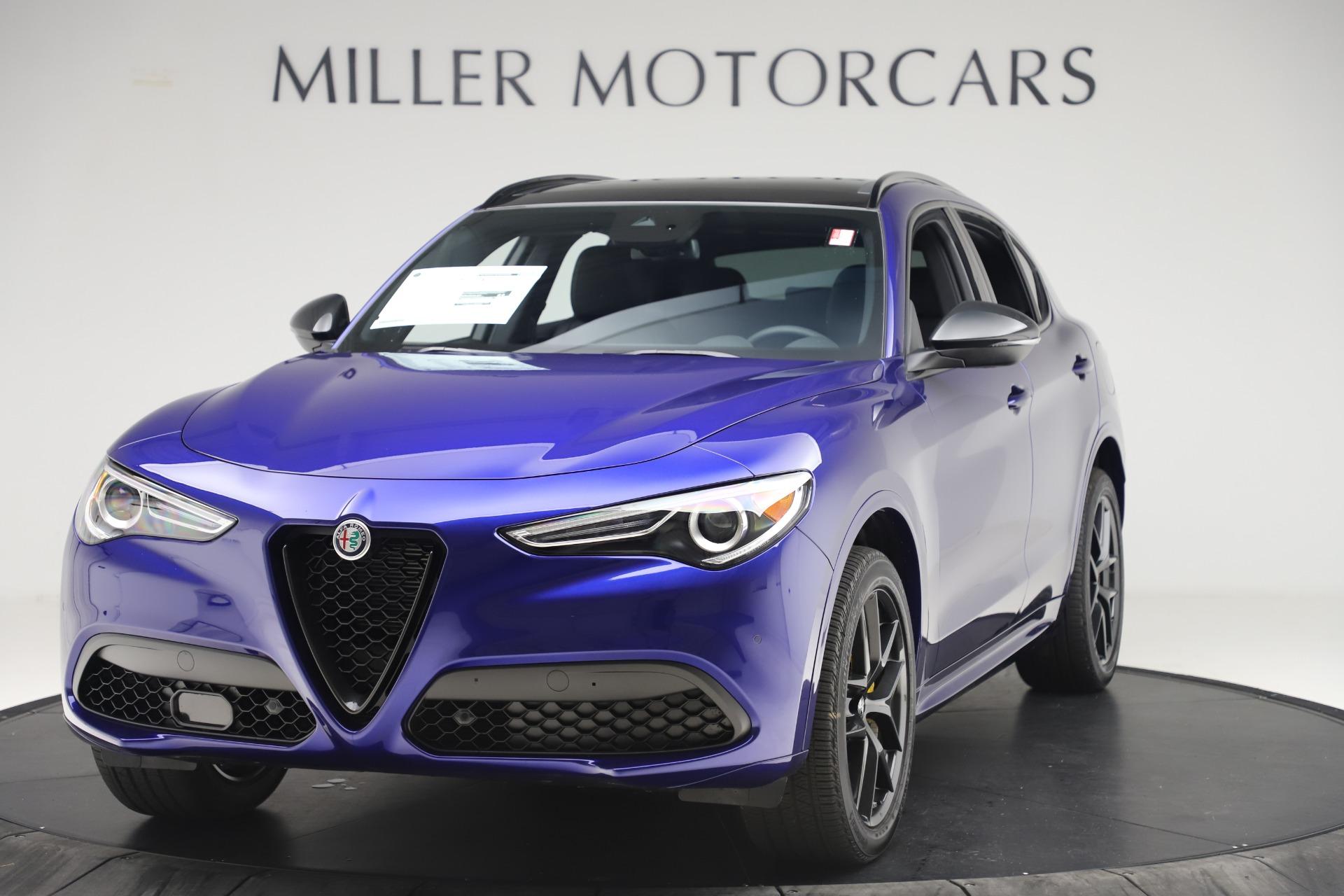 New 2020 Alfa Romeo Stelvio Ti Sport Q4 for sale $57,945 at Alfa Romeo of Greenwich in Greenwich CT 06830 1