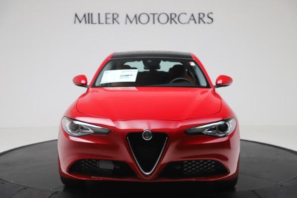 New 2020 Alfa Romeo Giulia Q4 for sale $46,395 at Alfa Romeo of Greenwich in Greenwich CT 06830 12