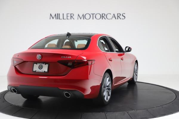 New 2020 Alfa Romeo Giulia Q4 for sale $46,395 at Alfa Romeo of Greenwich in Greenwich CT 06830 7