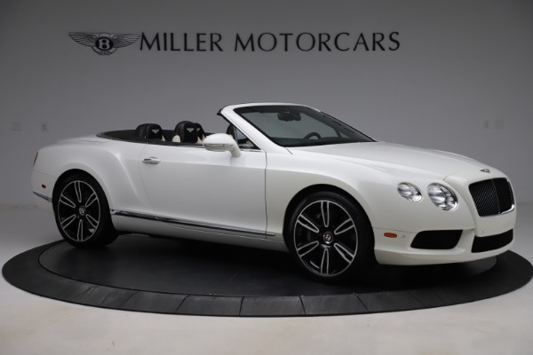 Used 2014 Bentley Continental GTC V8 for sale $109,900 at Alfa Romeo of Greenwich in Greenwich CT 06830 10