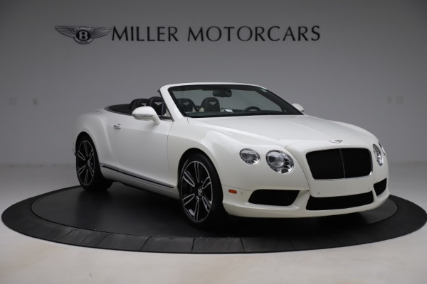 Used 2014 Bentley Continental GT Convertible V8 for sale $106,900 at Alfa Romeo of Greenwich in Greenwich CT 06830 11