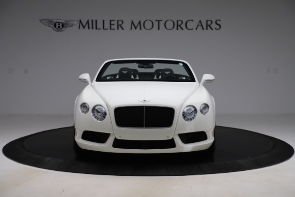 Used 2014 Bentley Continental GTC V8 for sale $109,900 at Alfa Romeo of Greenwich in Greenwich CT 06830 12