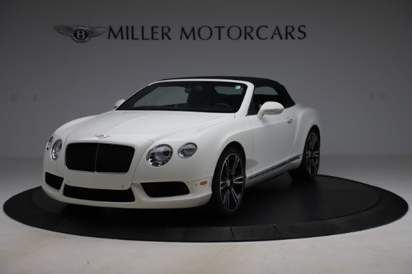 Used 2014 Bentley Continental GTC V8 for sale $109,900 at Alfa Romeo of Greenwich in Greenwich CT 06830 13