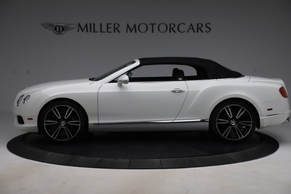 Used 2014 Bentley Continental GTC V8 for sale $109,900 at Alfa Romeo of Greenwich in Greenwich CT 06830 14
