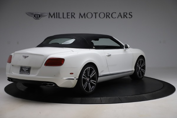 Used 2014 Bentley Continental GTC V8 for sale $109,900 at Alfa Romeo of Greenwich in Greenwich CT 06830 16