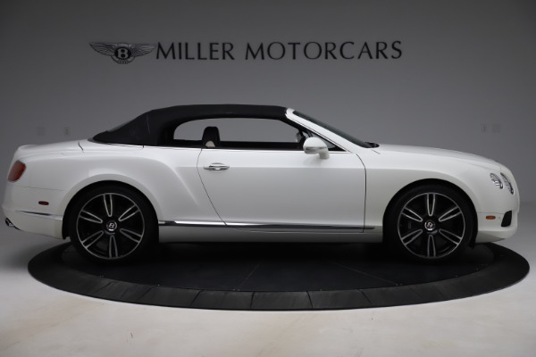 Used 2014 Bentley Continental GTC V8 for sale $109,900 at Alfa Romeo of Greenwich in Greenwich CT 06830 17