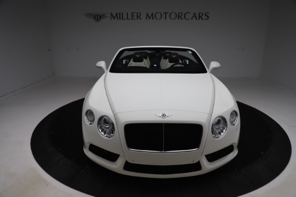 Used 2014 Bentley Continental GTC V8 for sale $109,900 at Alfa Romeo of Greenwich in Greenwich CT 06830 19