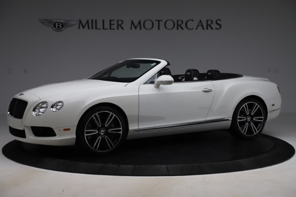 Used 2014 Bentley Continental GTC V8 for sale $109,900 at Alfa Romeo of Greenwich in Greenwich CT 06830 2