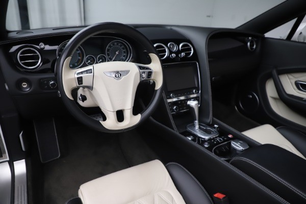 Used 2014 Bentley Continental GTC V8 for sale $109,900 at Alfa Romeo of Greenwich in Greenwich CT 06830 25