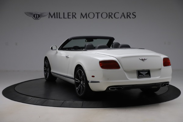 Used 2014 Bentley Continental GTC V8 for sale $109,900 at Alfa Romeo of Greenwich in Greenwich CT 06830 5