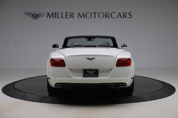 Used 2014 Bentley Continental GTC V8 for sale $109,900 at Alfa Romeo of Greenwich in Greenwich CT 06830 6