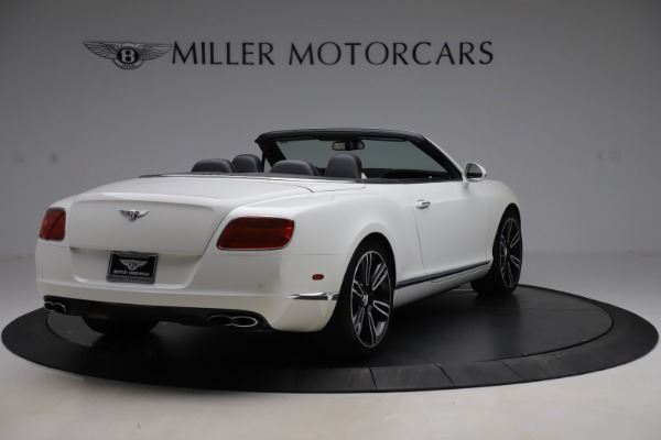 Used 2014 Bentley Continental GTC V8 for sale $109,900 at Alfa Romeo of Greenwich in Greenwich CT 06830 7