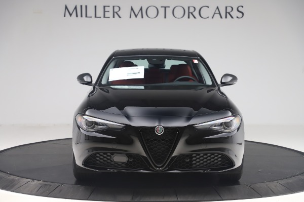 New 2020 Alfa Romeo Giulia Q4 for sale $48,445 at Alfa Romeo of Greenwich in Greenwich CT 06830 12
