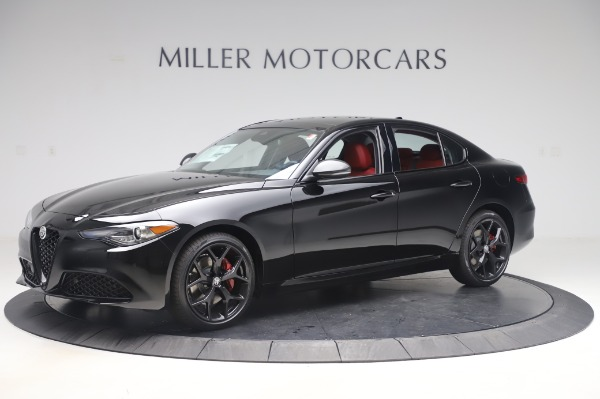 New 2020 Alfa Romeo Giulia Q4 for sale $48,445 at Alfa Romeo of Greenwich in Greenwich CT 06830 2