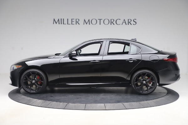 New 2020 Alfa Romeo Giulia Q4 for sale $48,445 at Alfa Romeo of Greenwich in Greenwich CT 06830 3