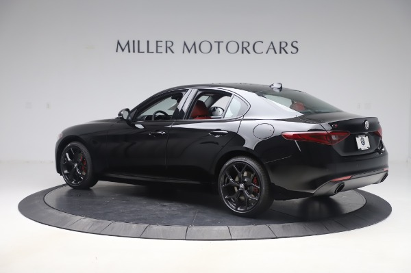 New 2020 Alfa Romeo Giulia Q4 for sale $48,445 at Alfa Romeo of Greenwich in Greenwich CT 06830 4