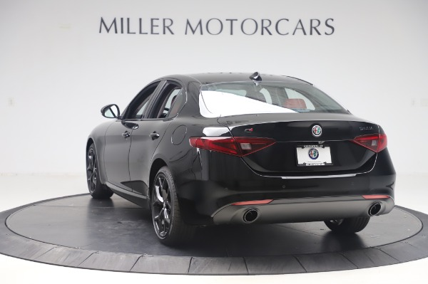 New 2020 Alfa Romeo Giulia Q4 for sale $48,445 at Alfa Romeo of Greenwich in Greenwich CT 06830 5