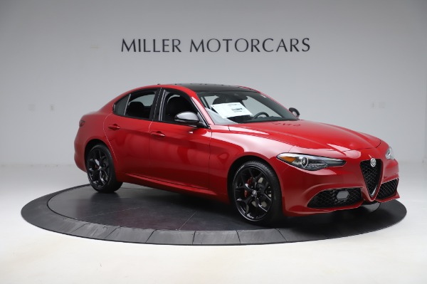 New 2020 Alfa Romeo Giulia Sport Q4 for sale Sold at Alfa Romeo of Greenwich in Greenwich CT 06830 10