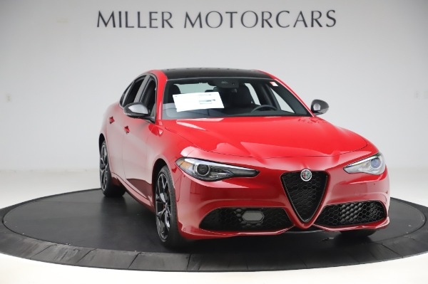 New 2020 Alfa Romeo Giulia Sport Q4 for sale Sold at Alfa Romeo of Greenwich in Greenwich CT 06830 11
