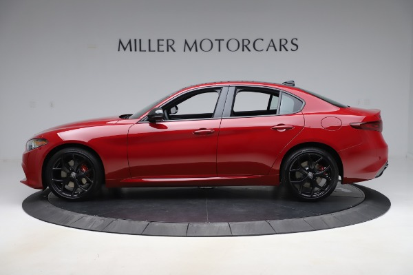 New 2020 Alfa Romeo Giulia Sport Q4 for sale Sold at Alfa Romeo of Greenwich in Greenwich CT 06830 3