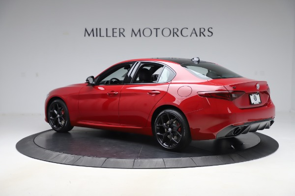 New 2020 Alfa Romeo Giulia Sport Q4 for sale Sold at Alfa Romeo of Greenwich in Greenwich CT 06830 4