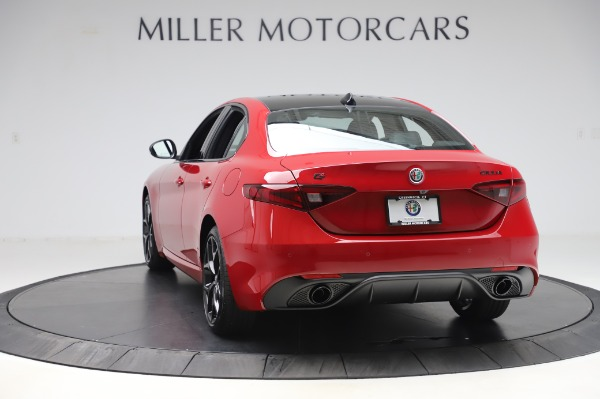 New 2020 Alfa Romeo Giulia Sport Q4 for sale Sold at Alfa Romeo of Greenwich in Greenwich CT 06830 5