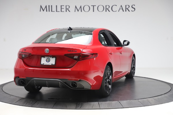 New 2020 Alfa Romeo Giulia Sport Q4 for sale Sold at Alfa Romeo of Greenwich in Greenwich CT 06830 7