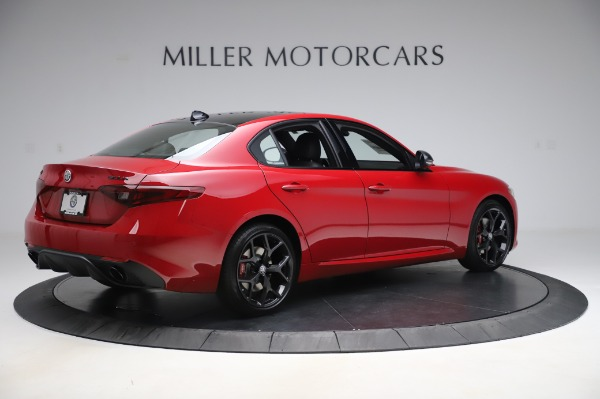 New 2020 Alfa Romeo Giulia Sport Q4 for sale Sold at Alfa Romeo of Greenwich in Greenwich CT 06830 8