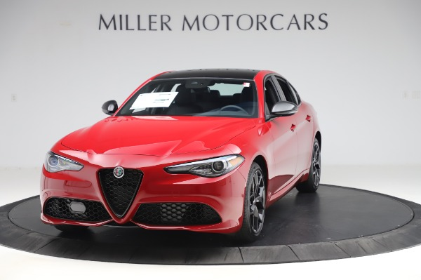 New 2020 Alfa Romeo Giulia Sport Q4 for sale Sold at Alfa Romeo of Greenwich in Greenwich CT 06830 1