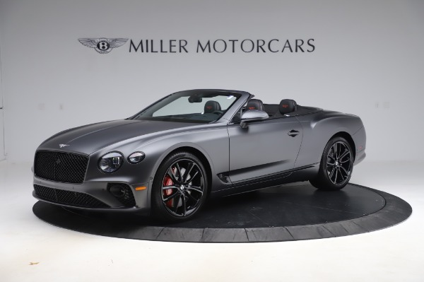 New 2020 Bentley Continental GTC W12 for sale Sold at Alfa Romeo of Greenwich in Greenwich CT 06830 2