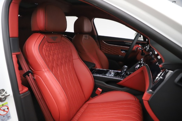 New 2020 Bentley Flying Spur W12 First Edition for sale $276,130 at Alfa Romeo of Greenwich in Greenwich CT 06830 26