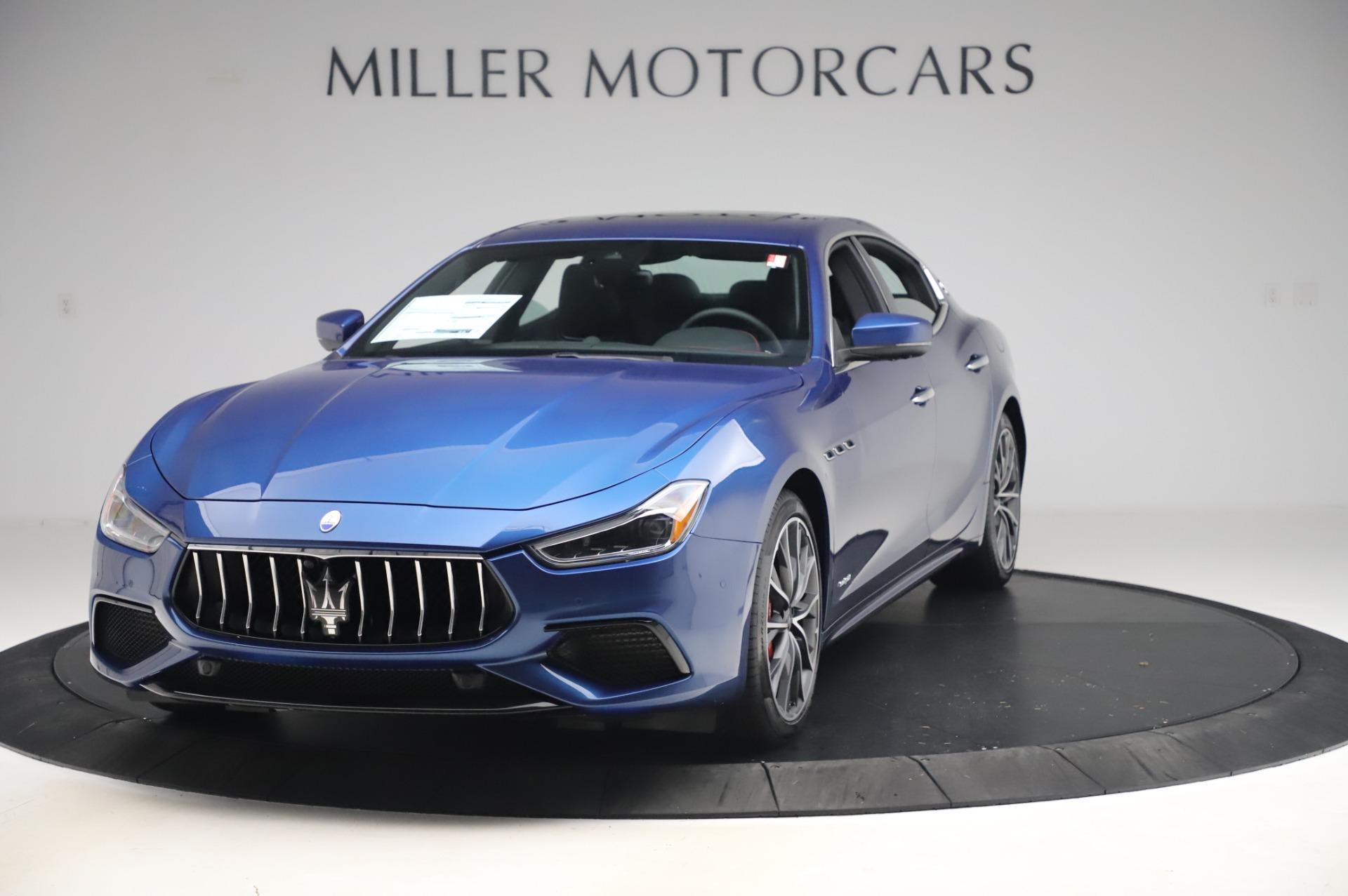 New 2020 Maserati Ghibli S Q4 GranSport for sale $94,935 at Alfa Romeo of Greenwich in Greenwich CT 06830 1