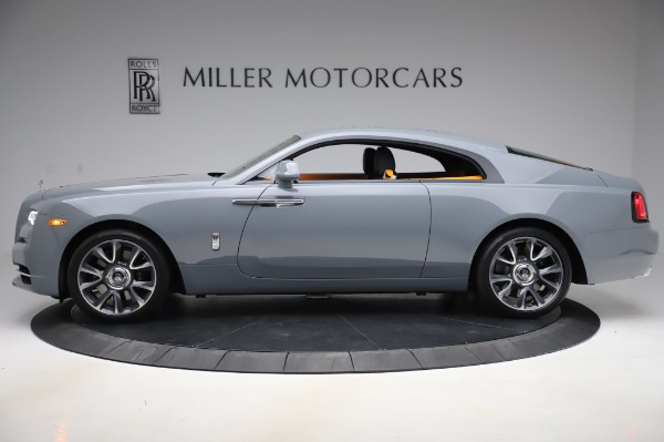 New 2020 Rolls-Royce Wraith for sale $405,625 at Alfa Romeo of Greenwich in Greenwich CT 06830 3