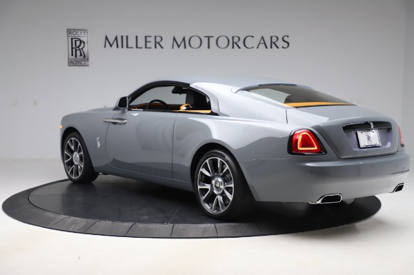 New 2020 Rolls-Royce Wraith for sale $405,625 at Alfa Romeo of Greenwich in Greenwich CT 06830 4
