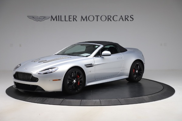 Used 2017 Aston Martin V12 Vantage S Roadster for sale Sold at Alfa Romeo of Greenwich in Greenwich CT 06830 13