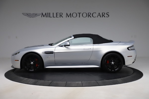 Used 2017 Aston Martin V12 Vantage S Roadster for sale Sold at Alfa Romeo of Greenwich in Greenwich CT 06830 14
