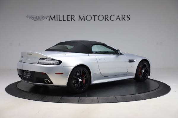 Used 2017 Aston Martin V12 Vantage S Roadster for sale Sold at Alfa Romeo of Greenwich in Greenwich CT 06830 16