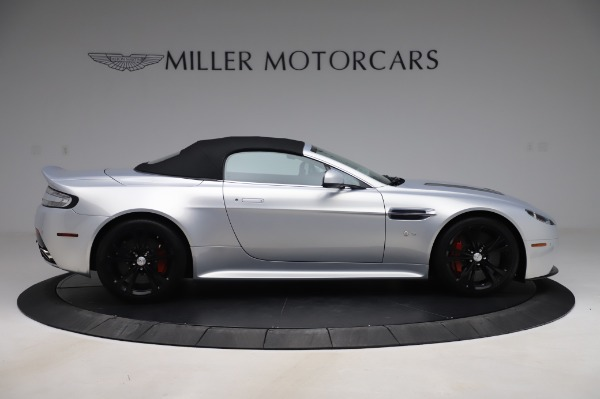 Used 2017 Aston Martin V12 Vantage S Roadster for sale Sold at Alfa Romeo of Greenwich in Greenwich CT 06830 17