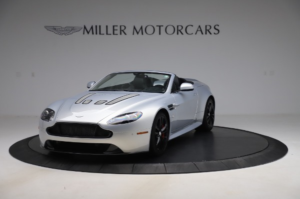 Used 2017 Aston Martin V12 Vantage S Roadster for sale Sold at Alfa Romeo of Greenwich in Greenwich CT 06830 2