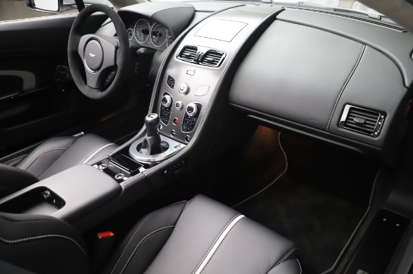 Used 2017 Aston Martin V12 Vantage S Roadster for sale Sold at Alfa Romeo of Greenwich in Greenwich CT 06830 27